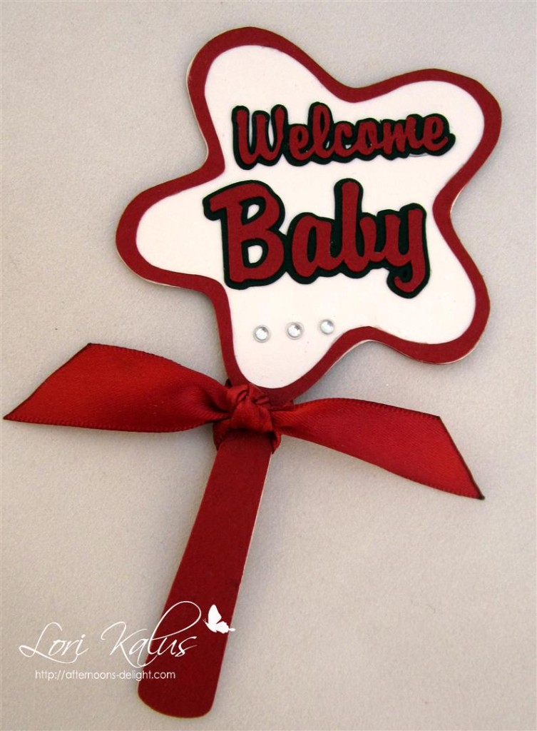 Blue Collar Welcome Baby 3 (Large)