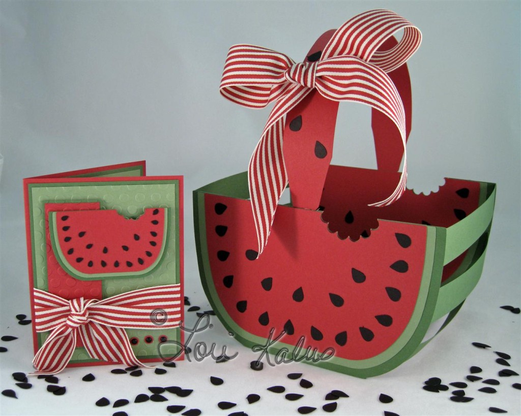 watermelon basket and card empty (Large)