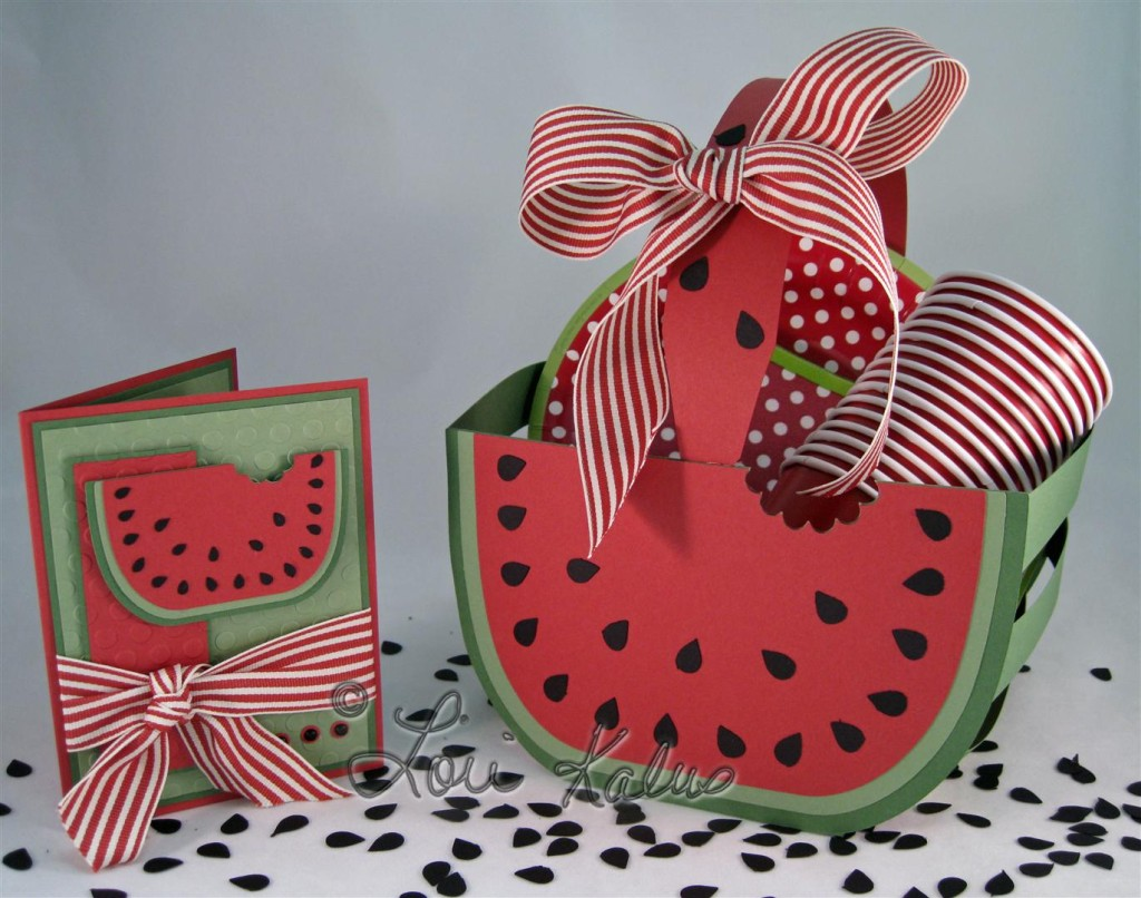 watermelon basket and card filled (Large)