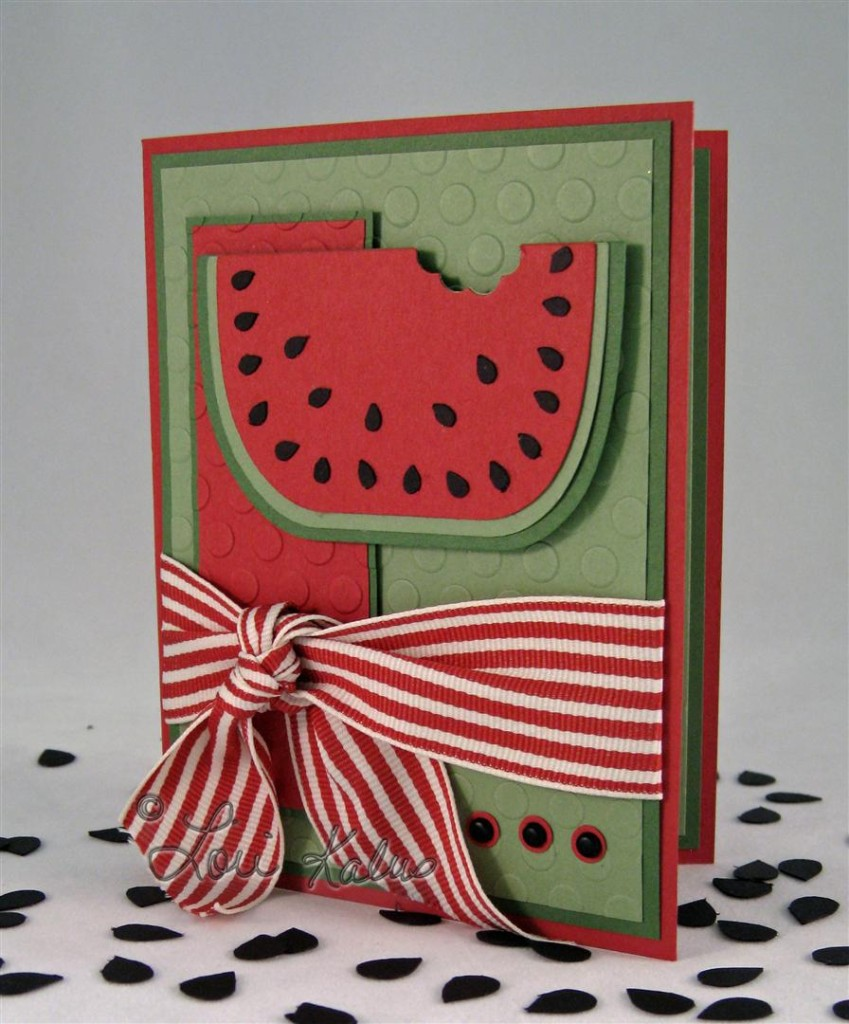 watermelon card (Large)